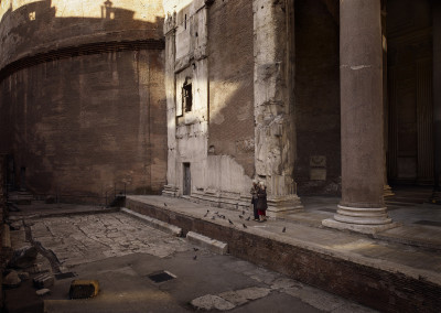 Silent world - Pantheon, Rome, Italy, 2012