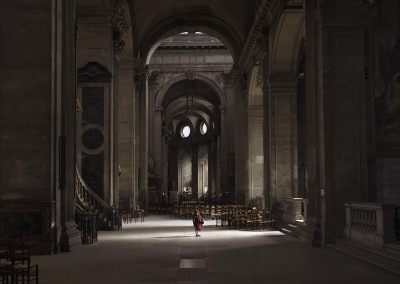 Silent world - Paris church, Paris, France, 2009