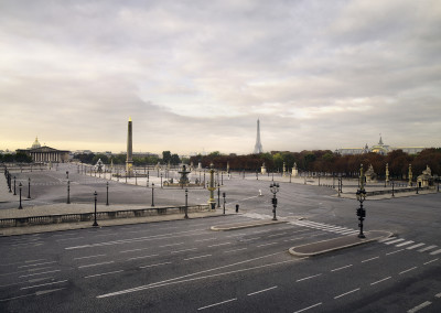 Silent world - Place de la concorde, Paris, France, 2008
