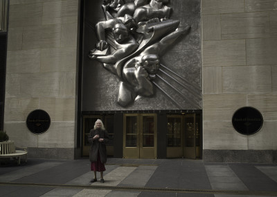 Silent world - Rockefeller center, New York, USA, 2009