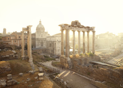Silent world - Roman forum, Rome, Italy, 2012