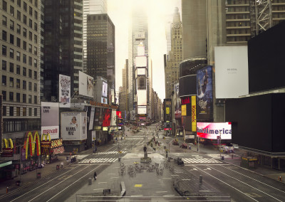 Silent world - Times square, New York, USA, 2009
