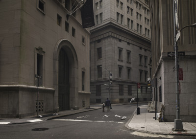 Silent world - Wall street, New York, USA, 2009