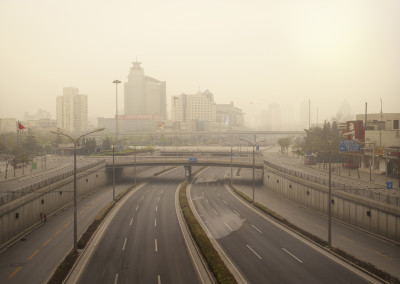 Silent world - Xizhimen ring road, Beijing, China, 2010